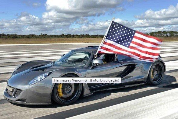 Hennessey Venom GT – O carro mais rápido do Mundo!