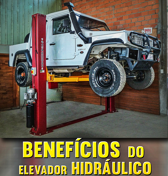 Benefícios do Elevador Hidráulico 4200 kg.