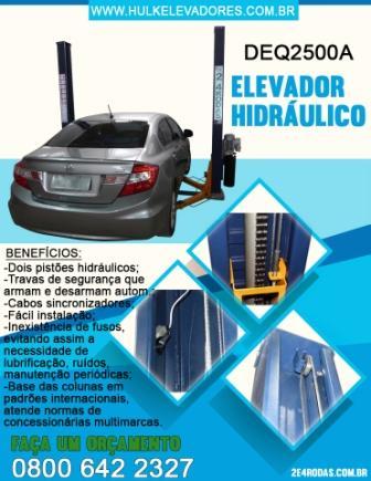DEQ2500A – Elevador Hidráulico