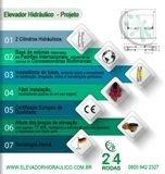 Elevador Hidráulico – Projeto