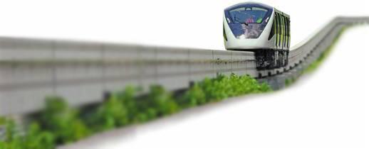 Monotrilho – Meio de transporte coletivo mais rápido